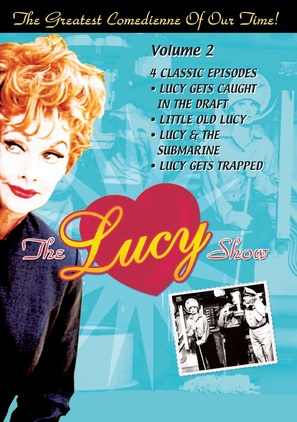 """""""The Lucy Show"""" - DVD movie cover (thumbnail)"""