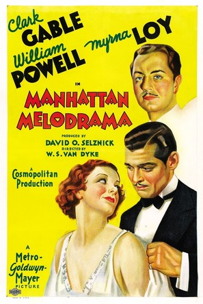 Manhattan Melodrama - Movie Poster (thumbnail)