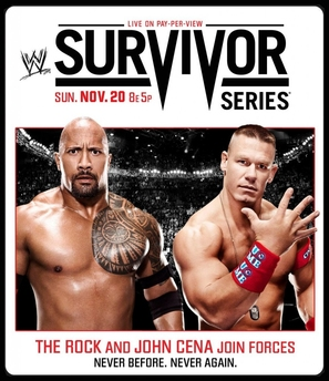 WWE Survivor Series - Movie Poster (thumbnail)