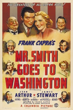 Mr. Smith Goes to Washington - Theatrical poster (thumbnail)