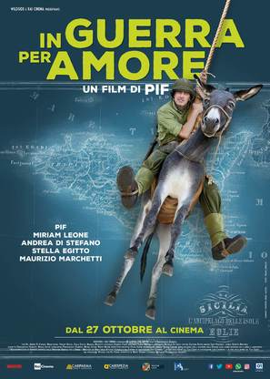 In guerra per amore - Italian Movie Poster (thumbnail)