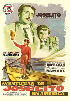 Aventuras de Joselito y Pulgarcito - Spanish Movie Poster (thumbnail)