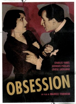 L'homme mystérieux - French Movie Poster (thumbnail)