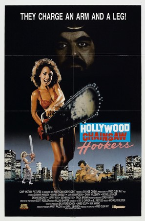 Hollywood Chainsaw Hookers - Movie Poster (thumbnail)
