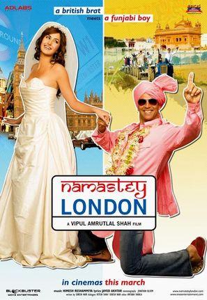Namastey London - Indian Movie Poster (thumbnail)