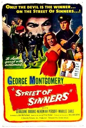 Street of Sinners - Movie Poster (thumbnail)