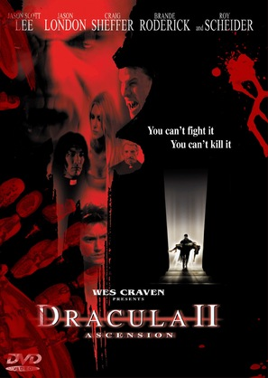 Dracula II: Ascension - DVD cover (thumbnail)