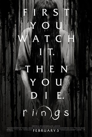 Rings - Theatrical movie poster (thumbnail)
