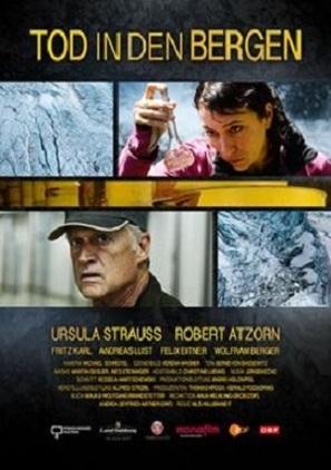 Tod in den Bergen - Austrian Movie Poster (thumbnail)