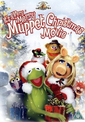 It's a Very Merry Muppet Christmas Movie - British DVD movie cover (thumbnail)