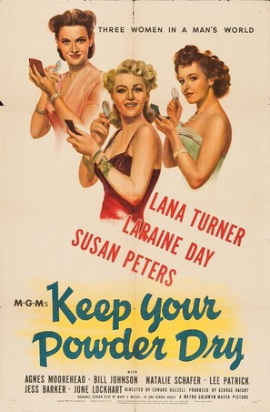 Keep Your Powder Dry - Movie Poster (thumbnail)