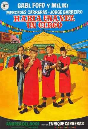 Había una vez un circo - Spanish Movie Poster (thumbnail)