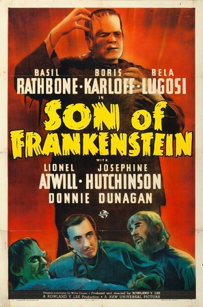 Son of Frankenstein - Movie Poster (thumbnail)