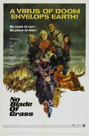 No Blade of Grass - Theatrical poster (thumbnail)
