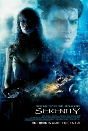 Serenity - Theatrical movie poster (thumbnail)
