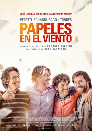 Papeles en el viento - Argentinian Movie Poster (thumbnail)