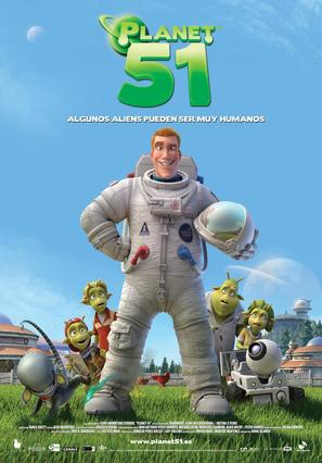 Planet 51 - Spanish Movie Poster (thumbnail)