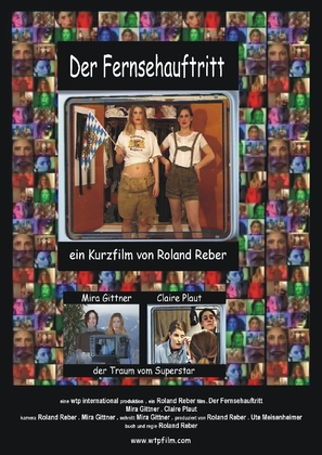 Der Fernsehauftritt - German Movie Poster (thumbnail)