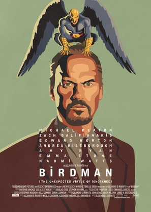 Birdman or (The Unexpected Virtue of Ignorance) - Movie Poster (thumbnail)