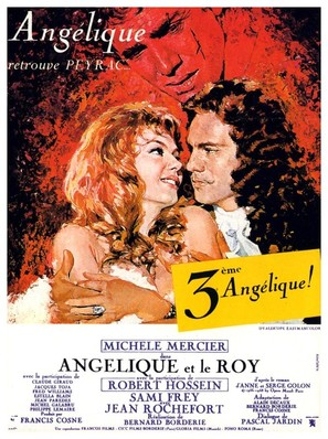 Angélique et le roy - French Movie Poster (thumbnail)