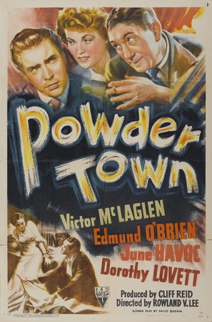 Powder Town - Movie Poster (thumbnail)