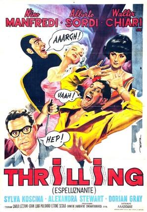 Thrilling - Italian Movie Poster (thumbnail)