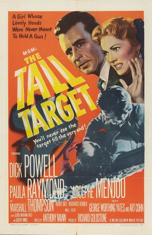 The Tall Target - Movie Poster (thumbnail)