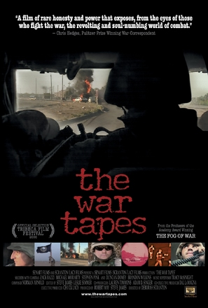 The War Tapes - Movie Poster (thumbnail)
