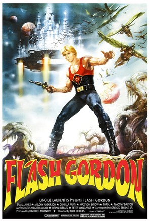 Flash Gordon - Movie Poster (thumbnail)