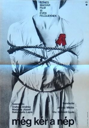 Még kér a nép - Hungarian Movie Poster (thumbnail)
