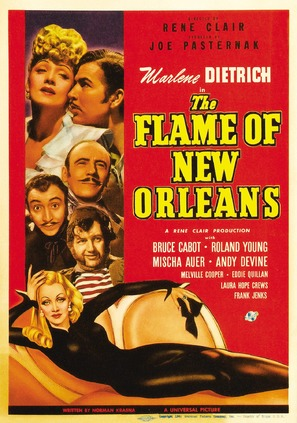 The Flame of New Orleans - Movie Poster (thumbnail)