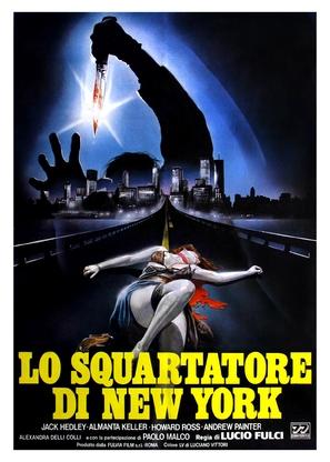 Lo squartatore di New York - Italian Movie Poster (thumbnail)