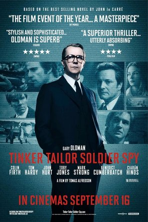 Tinker Tailor Soldier Spy - British Movie Poster (thumbnail)