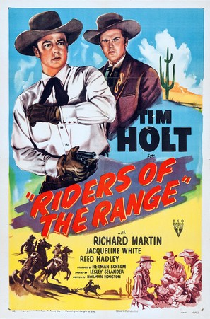 Riders of the Range - Movie Poster (thumbnail)