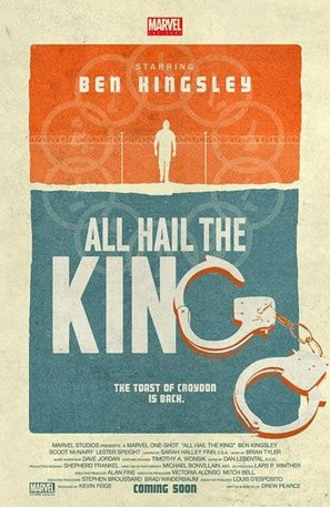 Marvel One-Shot: All Hail the King - Movie Poster (thumbnail)