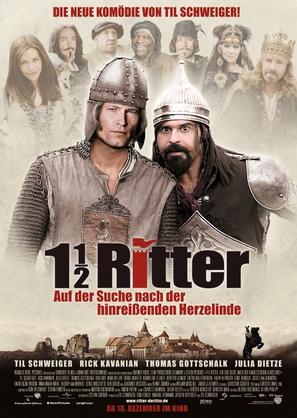 1 1/2 Ritter - Auf der Suche nach der hinreißenden Herzelinde - German Movie Poster (thumbnail)