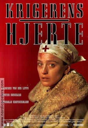 Krigerens hjerte - Norwegian Movie Poster (thumbnail)