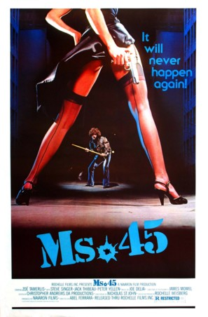 Ms. 45 - Movie Poster (thumbnail)