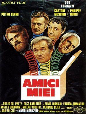 Amici miei - Italian Movie Poster (thumbnail)