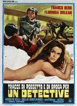 Un detective - Italian Movie Poster (thumbnail)