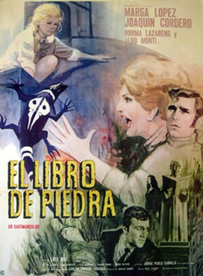 El libro de piedra - Mexican Movie Poster (thumbnail)