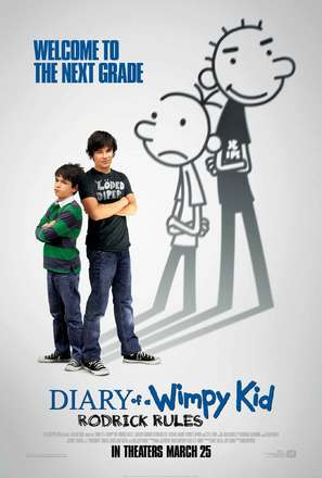 Diary of a Wimpy Kid 2: Rodrick Rules - Movie Poster (thumbnail)