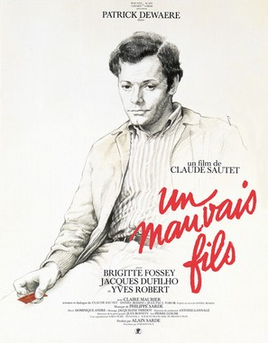 Un mauvais fils - French Movie Poster (thumbnail)