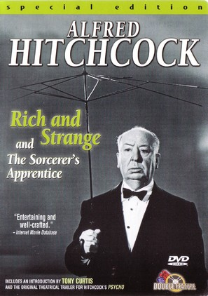 Rich and Strange - DVD movie cover (thumbnail)