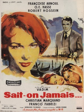 Sait-on jamais... - French Movie Poster (thumbnail)