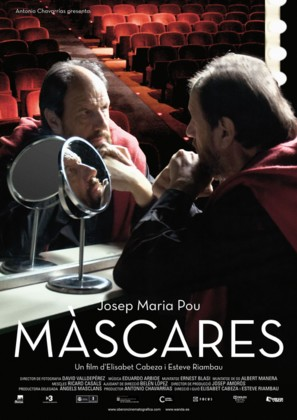 Màscares - Spanish Movie Poster (thumbnail)