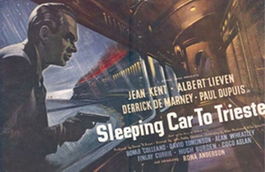 Sleeping Car to Trieste - British Movie Poster (thumbnail)