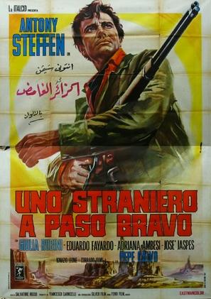 Uno straniero a Paso Bravo - Italian Movie Poster (thumbnail)