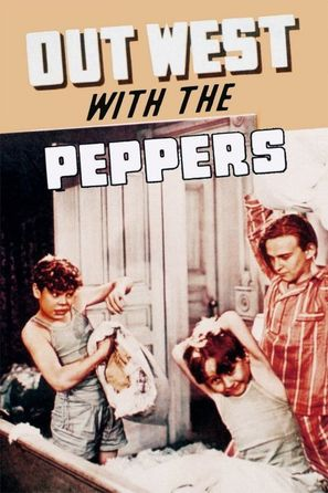 Out West with the Peppers - Movie Poster (thumbnail)