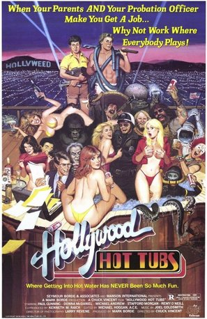 Hollywood Hot Tubs - Movie Poster (thumbnail)